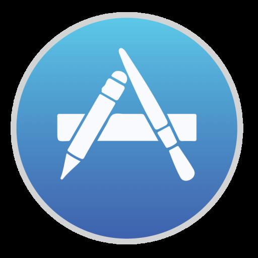 App Store Icon Mac Stock Apps Style Iconset Hamza Saleem
