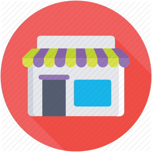 Storefront Vector Store Icon Transparent Png Clipart Free