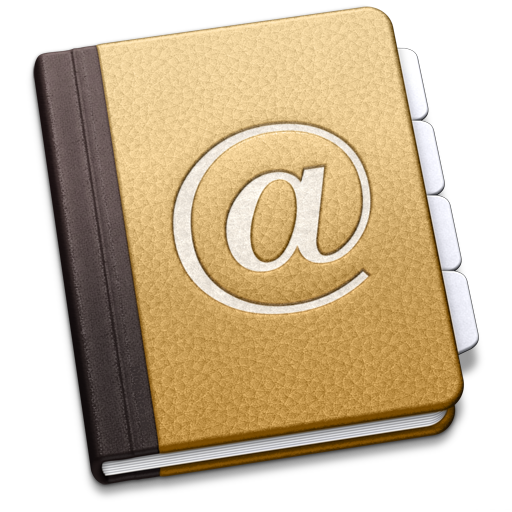 Apple Address Book Application Icon