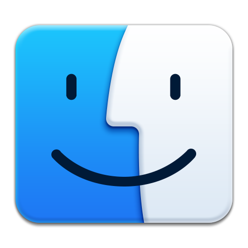 Apple Finder Icon Smooth App Iconset Ampeross