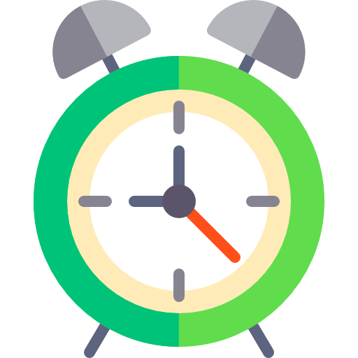 Alarm Clock Icon Education Elements Freepik