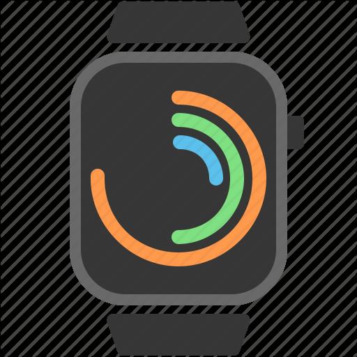 Apple Watch, Fitbit, Polar Clock, Watch, Wearables Icon
