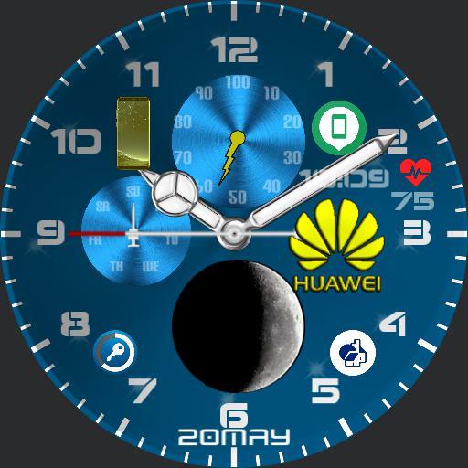 Huawei Blu Icon