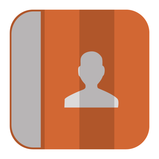 Contacts Icon Folded Flat Iconset Pelfusion