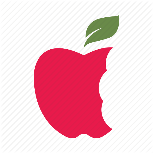 Apple, Bites, Delicious, Eat, Healthy, Nature, Red Icon
