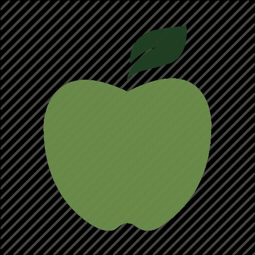 Apple, Class, Delicious, Fruit, Green, Nature, Teacher Icon