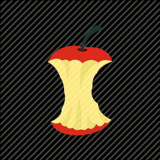 Apple, Core, Food, Fruit, Healthy, Nutrition, Taste Icon