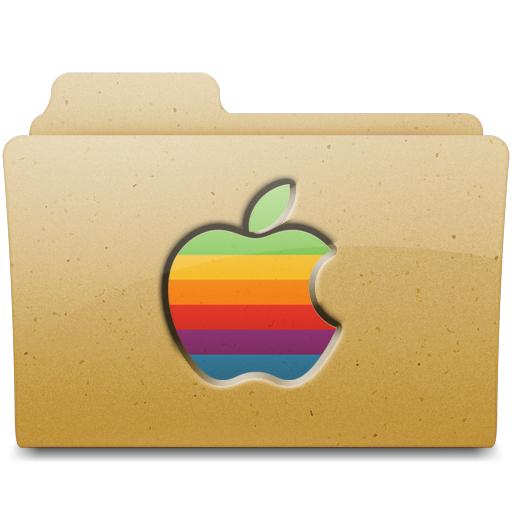 Retro Apple Folder