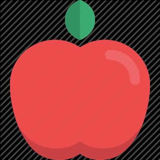 Apple, Food, Fruit, Natural, Organic, Raw Food Icon