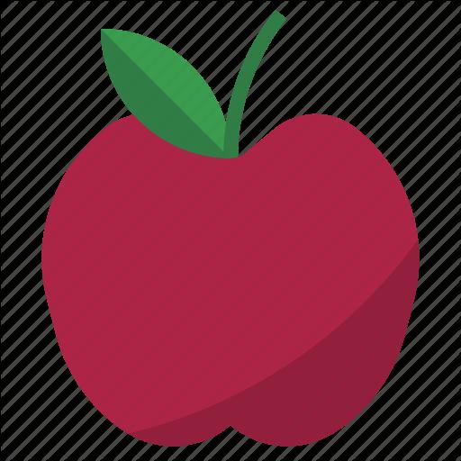 Apple, Fruit, Nature Icon