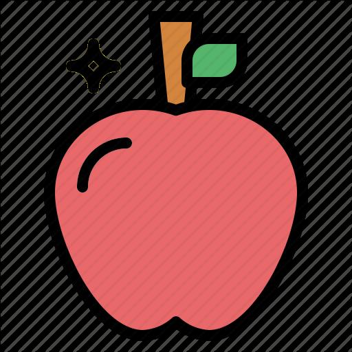 Apple, Fruit, Sweet, Vegetable Icon