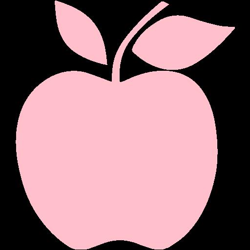 Pink Apple Icon