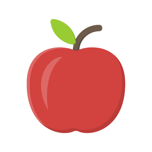 Apple, Fruit Icon Free Of Education