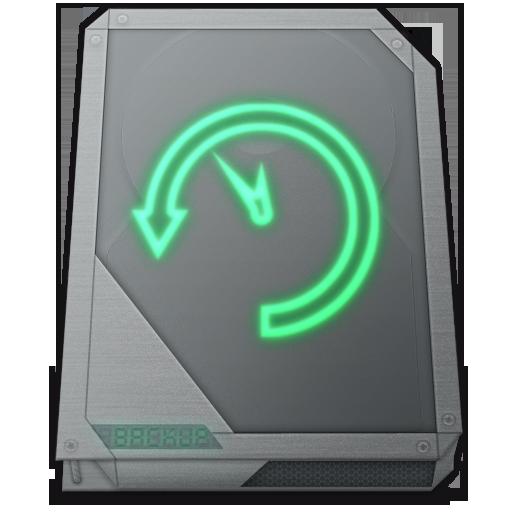 Drive Time Machine Icon