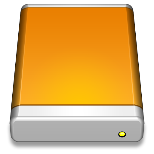 External Drive Icon Smooth Leopard Iconset Mcdo Design
