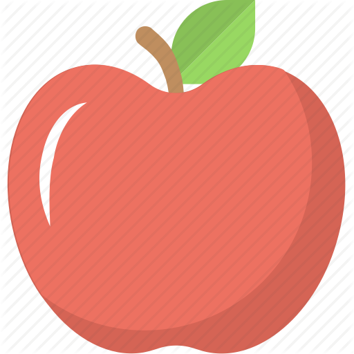 Apple, Food, Fruit, Red Apple, Ripe Apple Icon