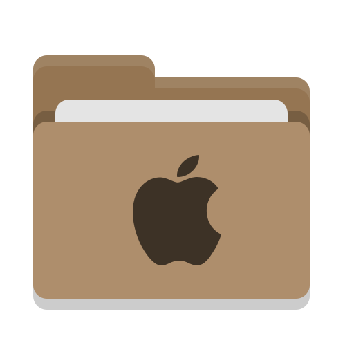 Folder, Brown, Apple Icon Free Of Papirus Places