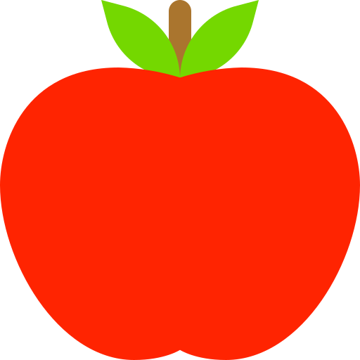 Fruit, Apple Icon Free Of Colocons Free