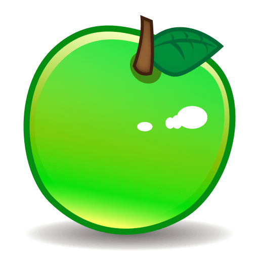 Green Apple Emoji For Facebook, Email Sms Id