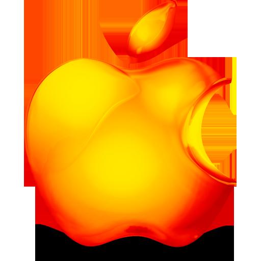 Orange Apple Logo