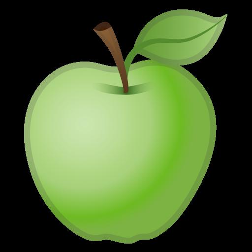 Green Apple Icon Noto Emoji Food Drink Iconset Google