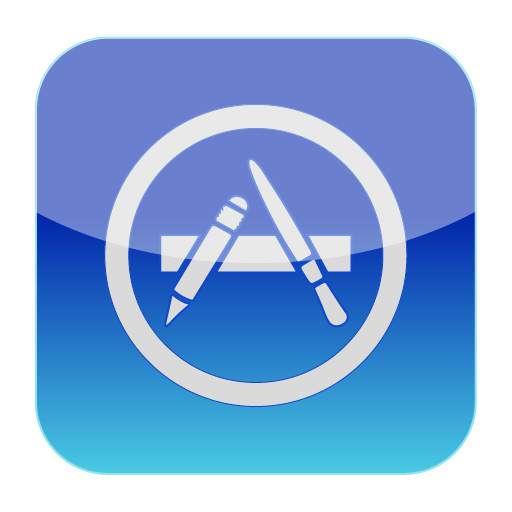 Apple App Store Vector Icon Icon