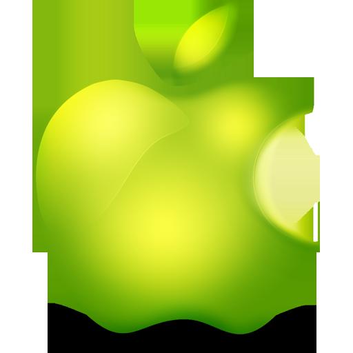Glossy Apple Icon