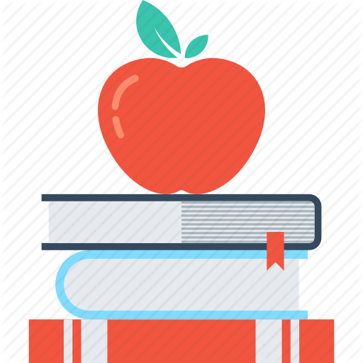 Apple, Book, Education, Knowledge, Learn, School, Study Icon