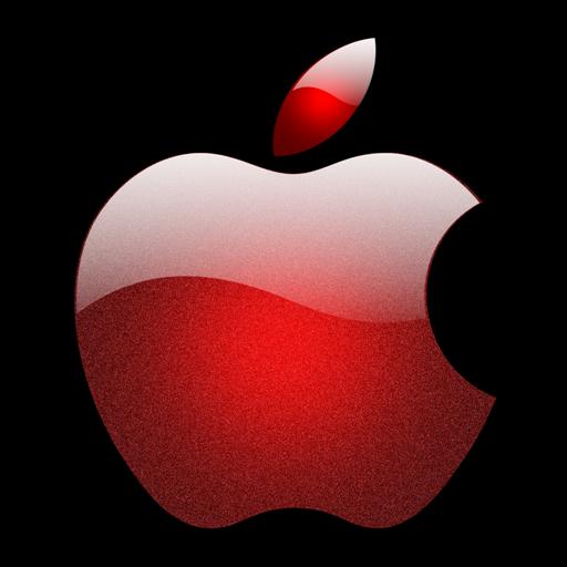 Apple Pink Logo Png Images