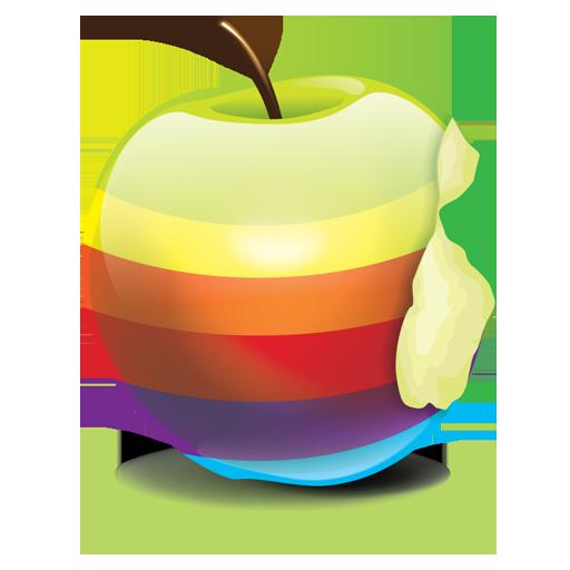Rainbow Apple Ad Colors Of The Rainbow Apple