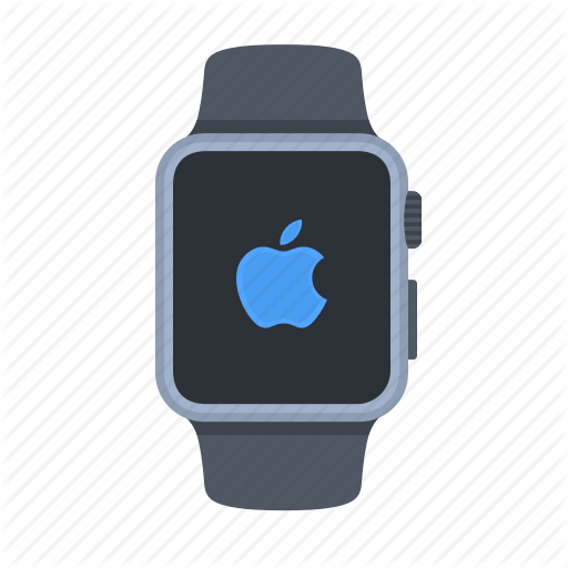 Apple Logo, Device, Iwatch, Load, Screen, Smartwatch, Timepiece Icon