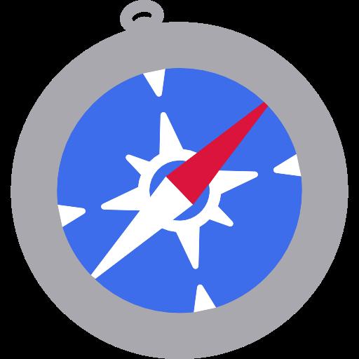 Browser, Apple, Logo, Compass, Safari, Squares Icon