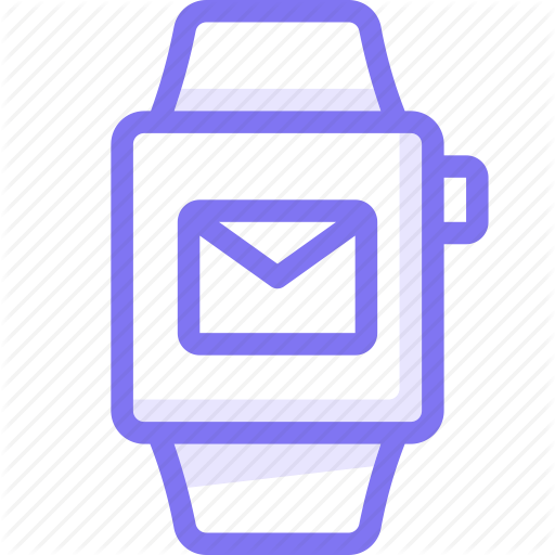 Apple, Apple Watch, Mail, Smart, Watch Icon