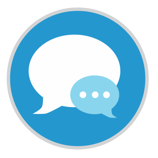 Messages Icon Mac Stock Apps Iconset Hamza Saleem