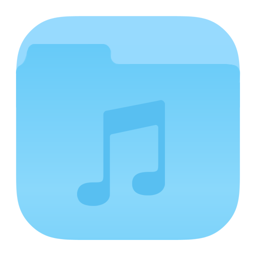 Folder Music Icon Ios Iconset Dtafalonso