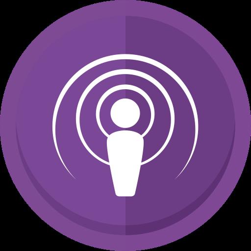 Apple Podcast, Apple Podcast Logo, Audio, Podcast, Podcast Logo Icon