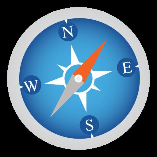 Safari Icon Mac Stock Apps Iconset Hamza Saleem