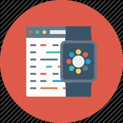 Apple, Code, Development, Iwatch, Program, Watch, Watchkit Icon Icon