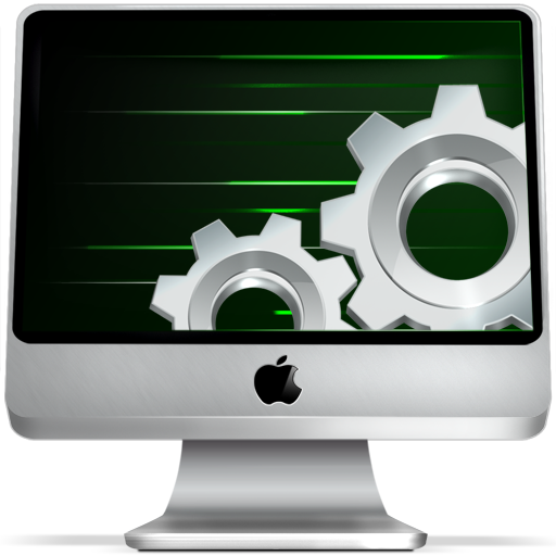 Apple, Computer, Imac, Monitor, Option, Screen, Settings Icon