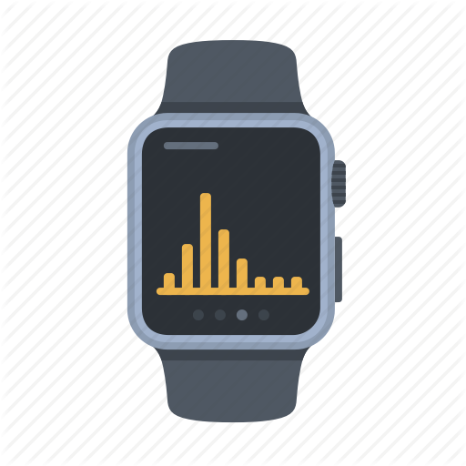 Apple Watch, Device, Graph, Smartwatch, Statistics, Technology