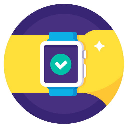 Apple, Watch, Hand, Checkmark, Sport, Done, Completed Icon