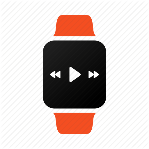 Applewatch, Iwatch, Multimedia, Music, Play, Song, Watch Icon