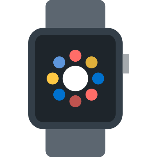 Smartwatch, Wristwatch, Electronics, Technology, Coding, Watch Icon