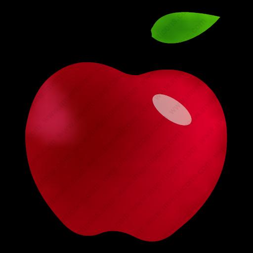 Download Fruit,apple,food,fruta Icon Inventicons