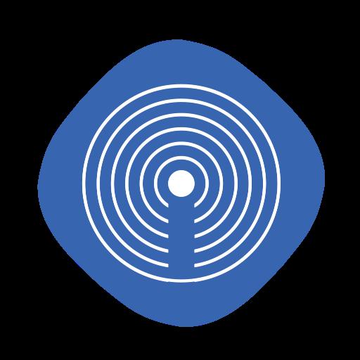 Apple, Ibeacon, Internet, Logo, Os, Wifi Icon