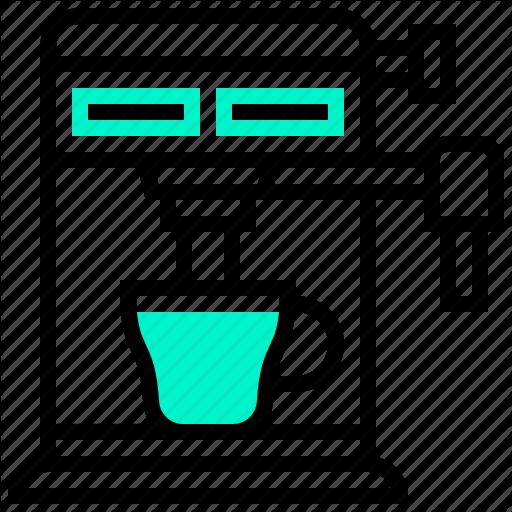 Appliance, Coffee, Electric, Machine, Maker Icon