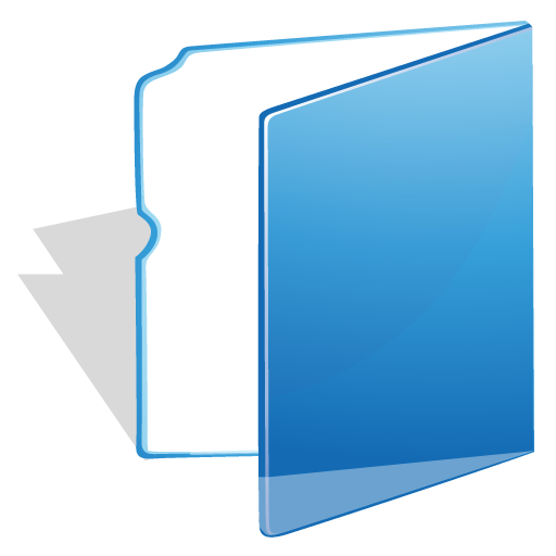 Blue Folder Icon Transparent Png Clipart Free Download