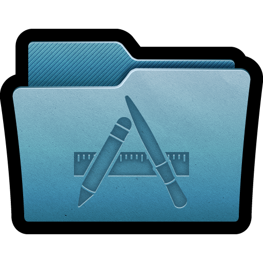 Programs, Applications, Folder Icon