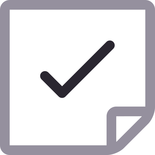 Document, Done, Ok, Apply Icon Free Of Icons Duetone