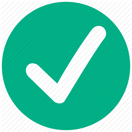 Accept, Apply, Approve, Confirm, Good, Ok, Yes Icon